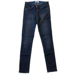 Paige Skyline Skinny Jeans Jenna Wash Size 26